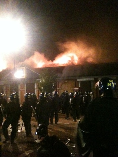 Major police investigation into violent Tottenham riots