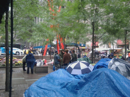 Wall Street protesters arrested on day four of camp