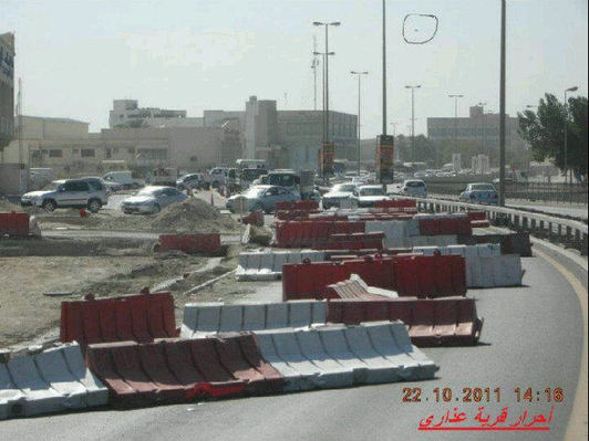 Bahrain protesters cause havoc with 'roadblock' protest