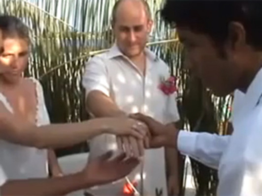 Maldives wedding cursed not blessed