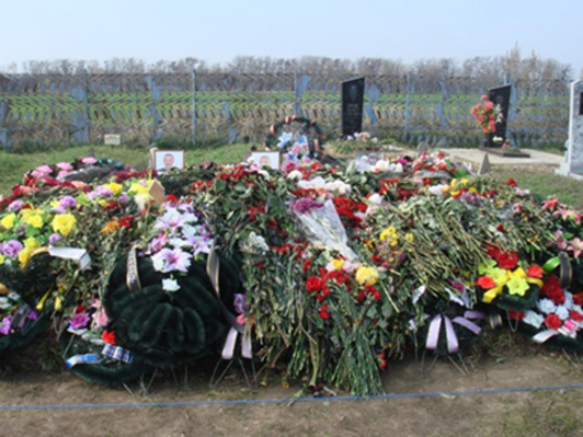 Seven questioned over Russian 'mafia' massacre