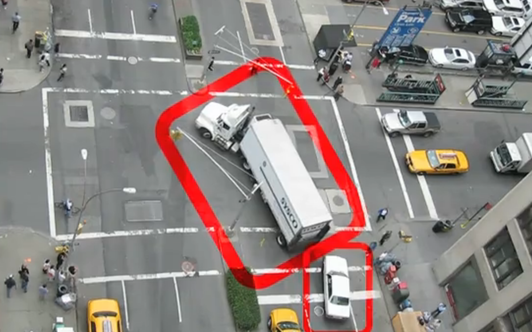 Navigating New York streets a dangerous game
