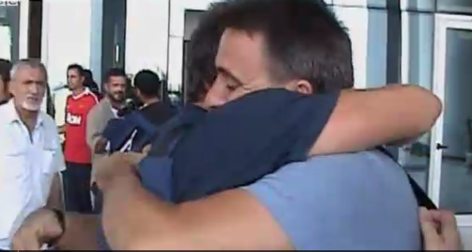 Journalists freed from Tripoli's #Rixos Hotel