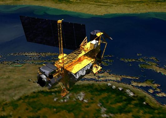 Hit by a satellite from NASA: What are the odds?