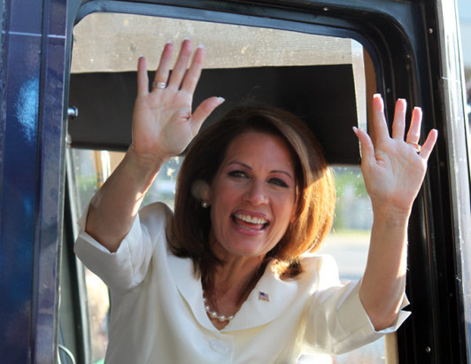 Bachmann calls Obama a 'genius' over Hawaii gaffe