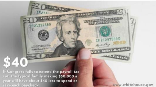Obama draws a huge response to tweet on #40dollars