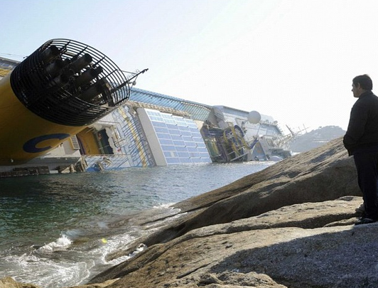 Did Costa Concordia salute cost passengers' lives?