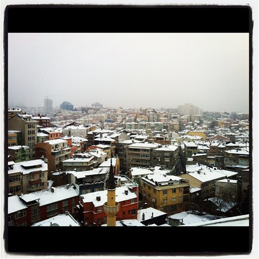 Record chill brings Istanbul to a standstill