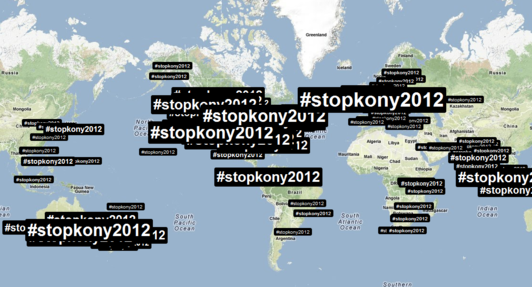 Twitter lights up with #stopKony campaign