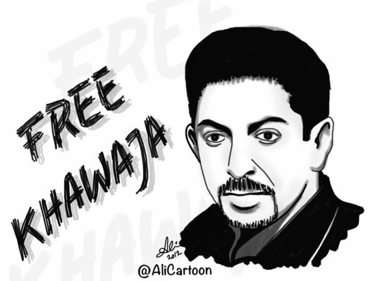 Bahrainis back hunger striker with #KillingKhawaja hashtag