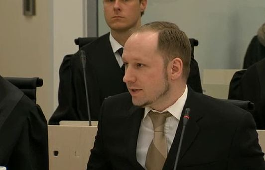 Breivik sheds tears at viewing of own propaganda video