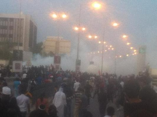 Mourners hit with tear gas as Bahraini protester laid to rest