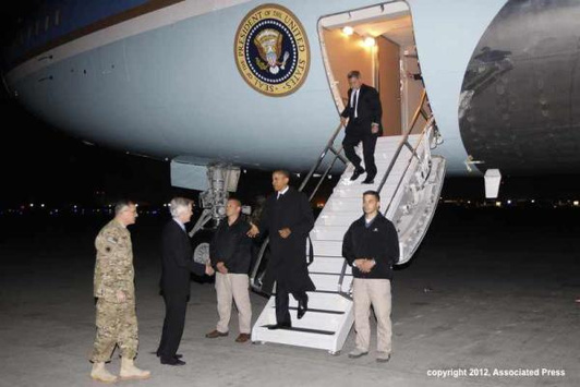 Obama's Afghanistan visit leaked through Twitter