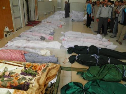 Dozens of children killed in Houla 'massacre'