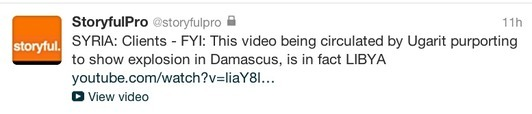 Libyan video fools Syrians: The pitfalls of video aggregation sites