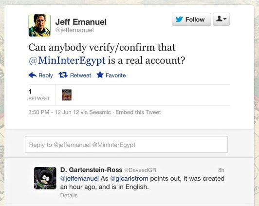 Death by De Benedetti: How to spot a fake Twitter account