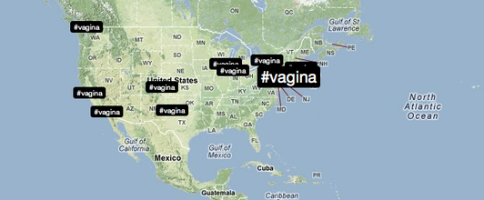 #Vagina trends after US female legislator banned from speaking