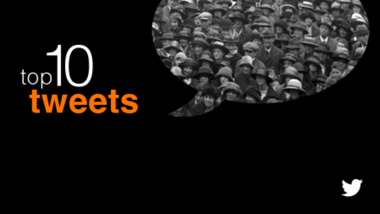 Twitter talk: Today's top ten tweets