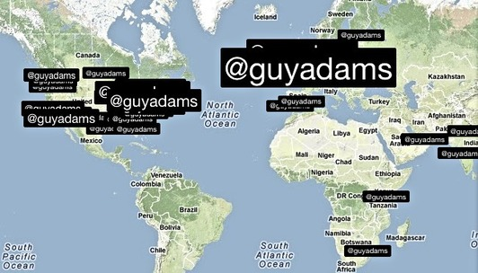 Guess who's back? @guyadams returns to Twitter