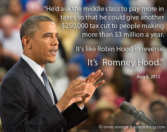 #Obamaloney versus #Romneyhood: Political rhetoric takes a dive