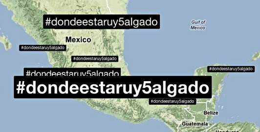 Mexicans storm social media over missing blogger