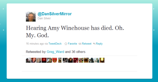 Singer Amy Winehouse found dead