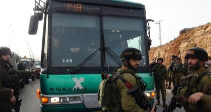 Palestinian #freedomriders arrested on bus to Jerusalem