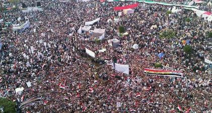Massive Tahrir rally against military's 'special position'