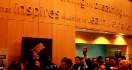 Baruch students clash with campus cops in fees protest