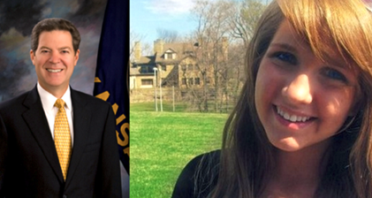 Kansas governor Brownback versus @emmakate988