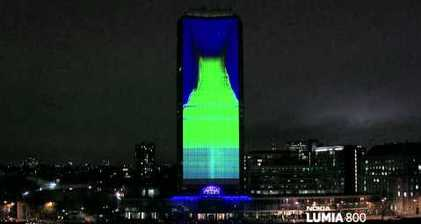 Nokia lights up London with the 4th dimension