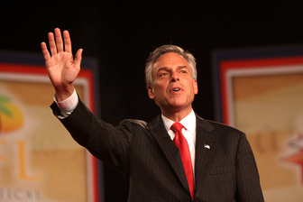 Huntsman in hot water over 'bimbo' comment