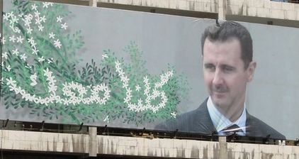 US station interviews Syrian president Bashar al