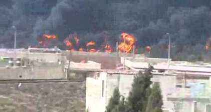 Oil pipeline in Syrian flashpoint Homs blown up