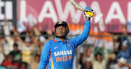 Virender Sehwag breaks record for ODI cricket score