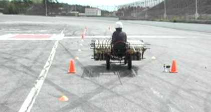 Car powered by Coke and Mentos travels 209 feet
