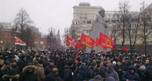 Thousands join protests in Russian towns and cities