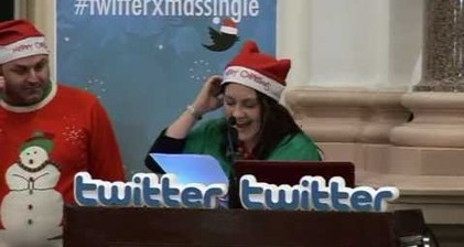 #twitterxmassingle brightens up winter of discontent