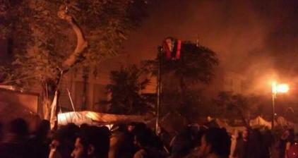 Egyptian security goes after #OccupyCabinet protest