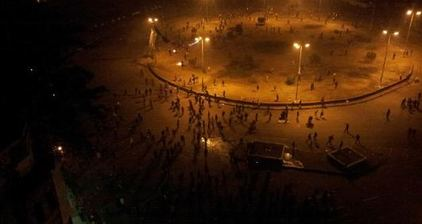 Protesters and security forces clash in Cairo