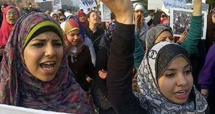 #WomenMarch in Cairo to stake claim for a new Egypt