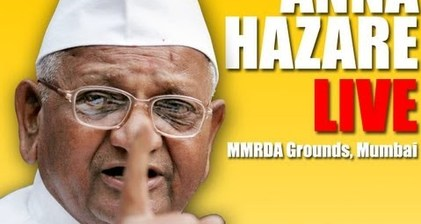 Anna Hazare support wanes as new hunger strike begins