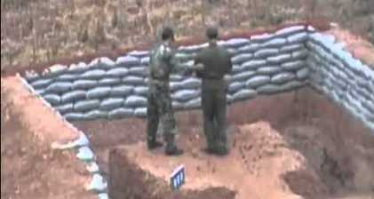 Chinese soldier almost kills himself with grenade