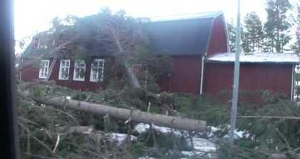 Nordic countries feel impact of Dagmar storm