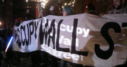 #Occupy retakes Zuccotti Park to mark start of 2012