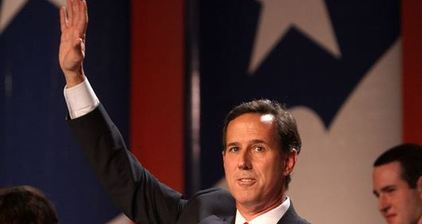 Rick Santorum surges on social media