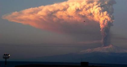 Flight fears as Italy's Mount Etna volcano erupts