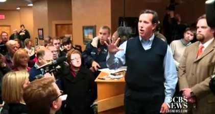 What did Santorum say? 'Racist' remark sparks debate