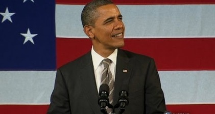 Obama wows fans, singing 'I'm so in love with you'