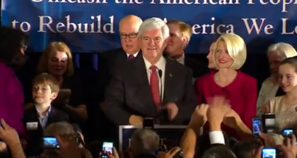 Gingrich ready to 'unleash Americans'